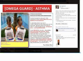 Kelebihan dan Manfaat Omega Guard Shaklee Untuk Anak Asma