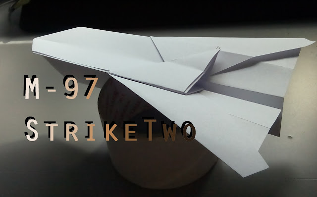 Avión de papel M-97