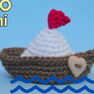 Amigurumi Barco a Crochet