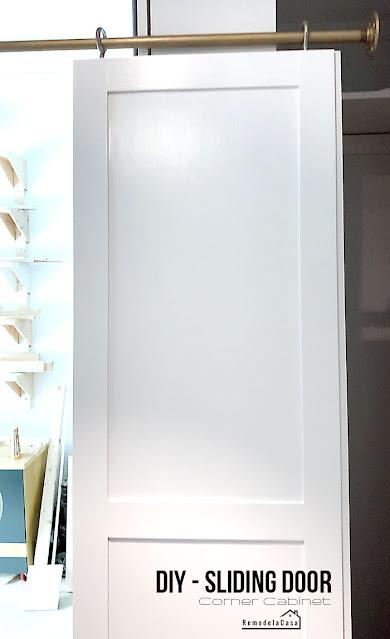 DIY - Cabinet sliding door