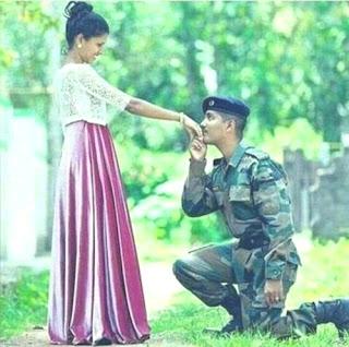 Cute-army-couple-whatsapp-dp-download