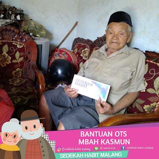 Mbah Kasmin : Bantuan OTS