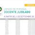 LISTADO DE PERSONAL DOCENTE JUBILADO A PARTIR DEL 1 DE SEPTIEMBRE DE 2019