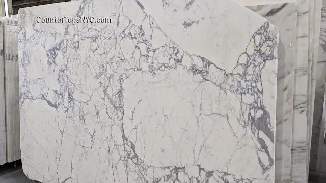 White Marble Statuary Slabs 5cm - Italiano NYC