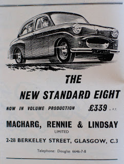 Standard 8 advert for Macharg Rennie and Lindsay Ltd
