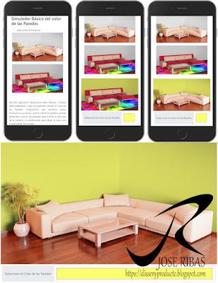 App Web | Simulador Básico color de las Paredes