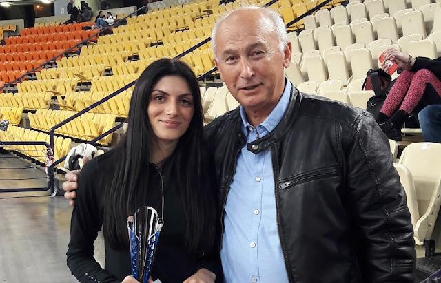 Πρωταθλήτρια στα 1.500μ. η Ναυπλιώτισσα Κωνσταντίνα Γιαννοπούλου