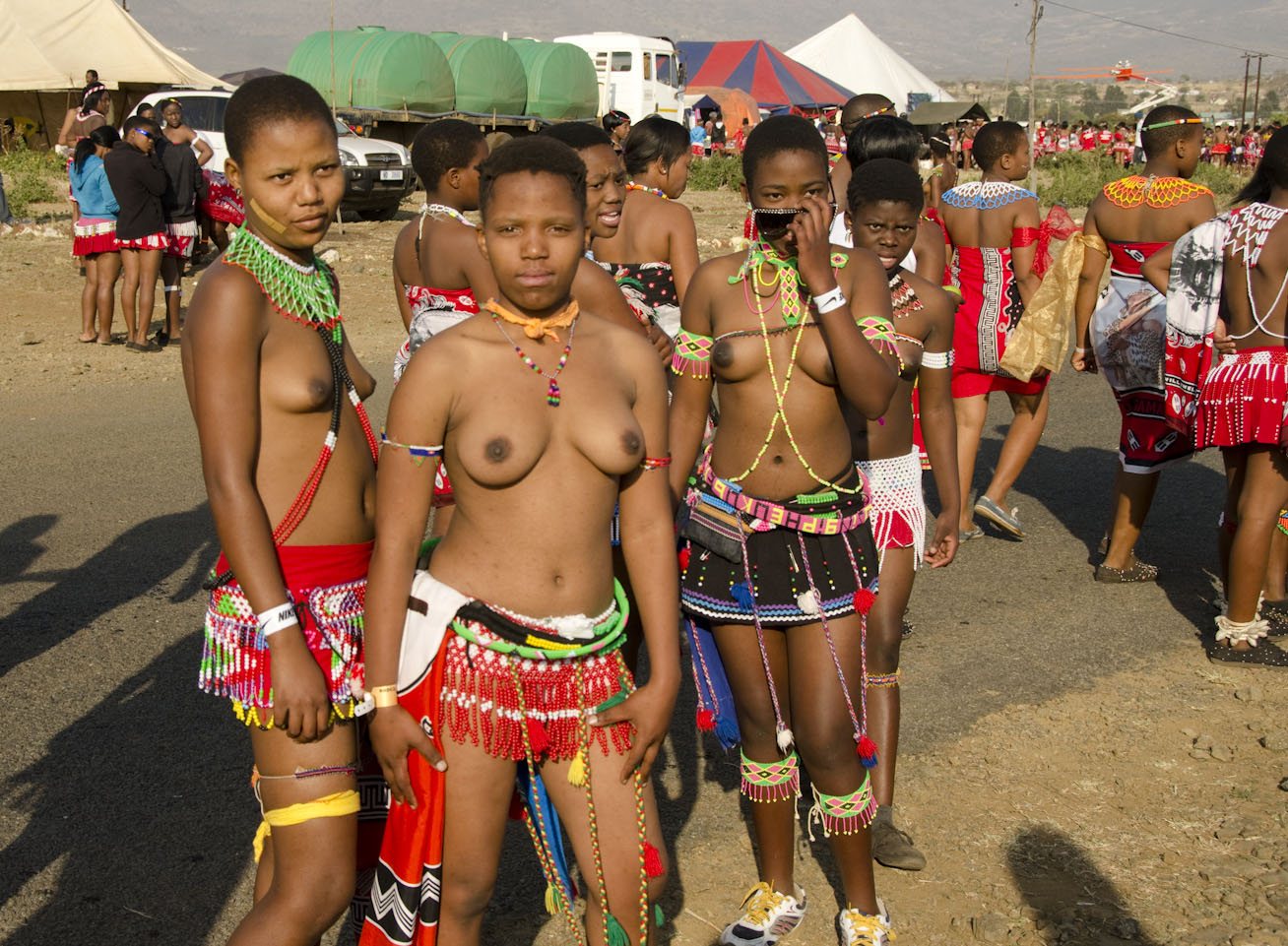 Tribe nude bathing zulu