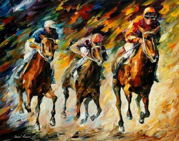 30 Amazingly Colorful Knife Paintings by Leonid Afremov