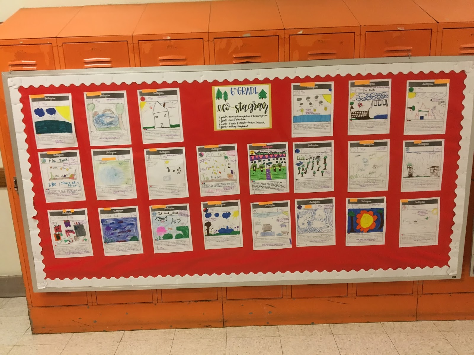 Lyon Academy Pre K 8 Student Work Expectations And Exemplars
