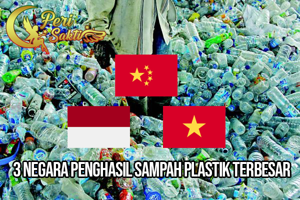 3 Negara Penghasil Sampah Plastik Terbesar