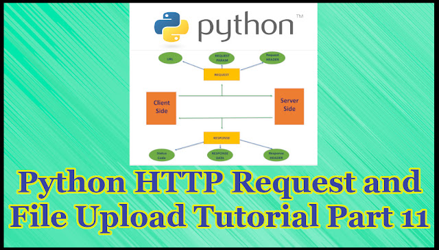 Python HTTP Request and File Uploading Tutorial Part 11