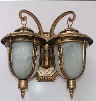 Sưu tầm các mẫu đèn tường ngoại thất có giá dưới 700 nghìn đồng