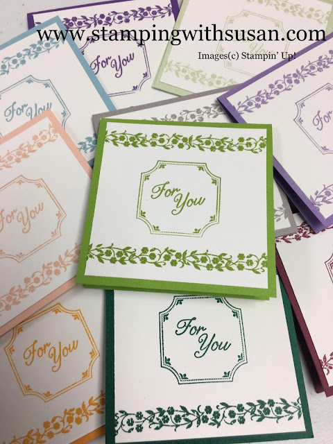 Stampin' Up!, www.stampingwithsusan.com, 2018 Color Revamp, New Colors