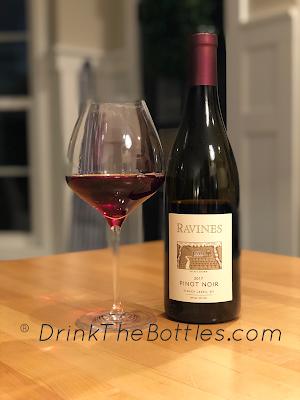2017 Ravines Wine Cellars Pinot Noir