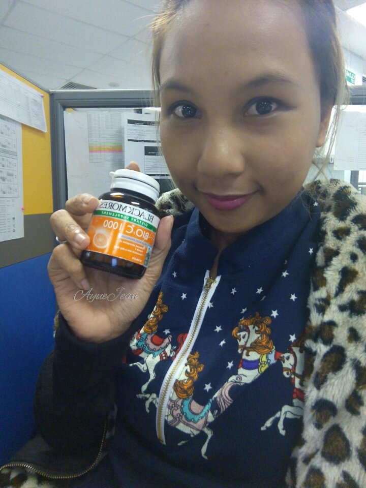 Vitamin Blackmores Bio C 1000mg Supplemen Terbaik Aj