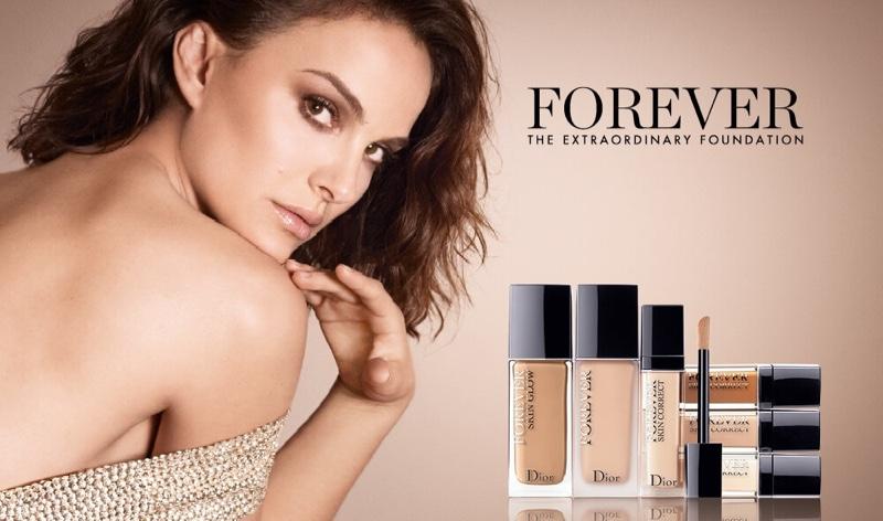 Dior Forever Foundation Campaign 2020 featuring Natalie Portman