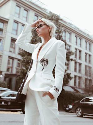 Italské módní blogerky: top 10 královen Instagramu -Veronica Fearraro