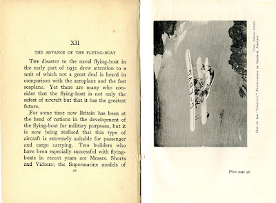 Gibbard Jackson: The Splendid Book of Aeroplanes p96-97