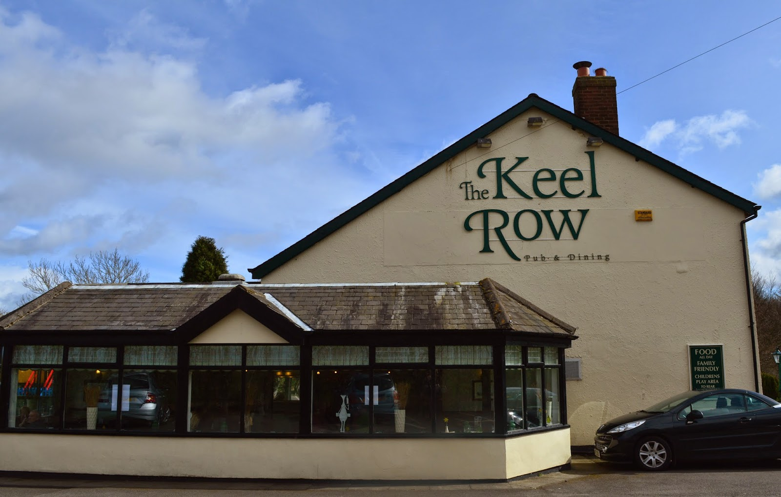 Afternoon tea at The Keel Row