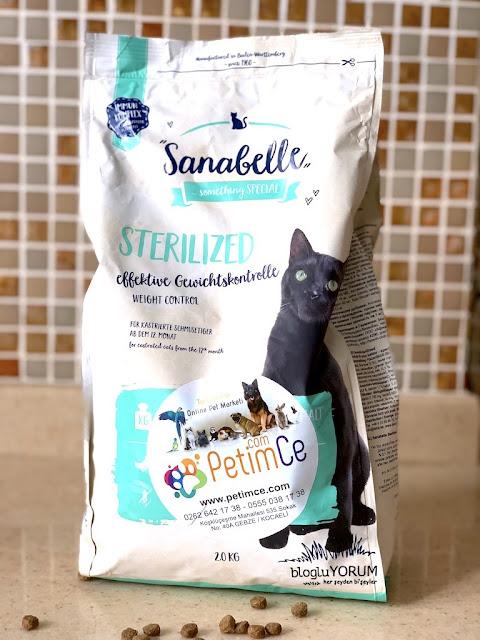 petimce kedi maması alışverişi sanabelle tahılsız sterilized