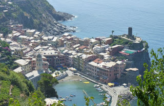 Cinque Terre, Vernazza desde el Sendero Azul.