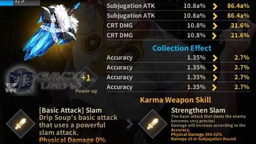 Lucid Adventure: Idle RPG - Drip Soup Karma Weapon 1