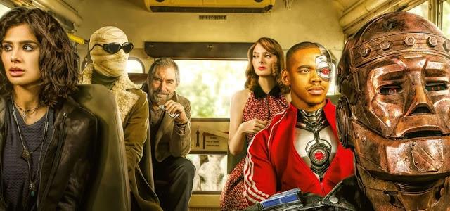 DC lançará três episódios da primeira temporada de 'Doom Patrol' gratuitamente