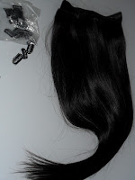 Straight Hair Extension Weft & Clips