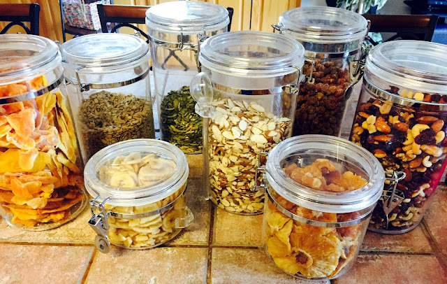 Canisters for Storing Dried Fruits & Nuts