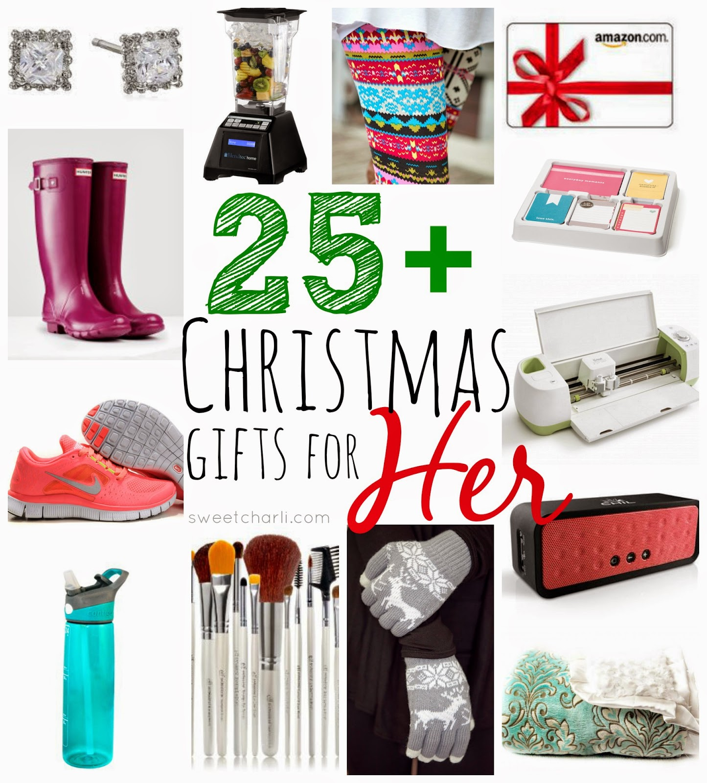 25+ Christmas Gifts for Her - Sweet Charli