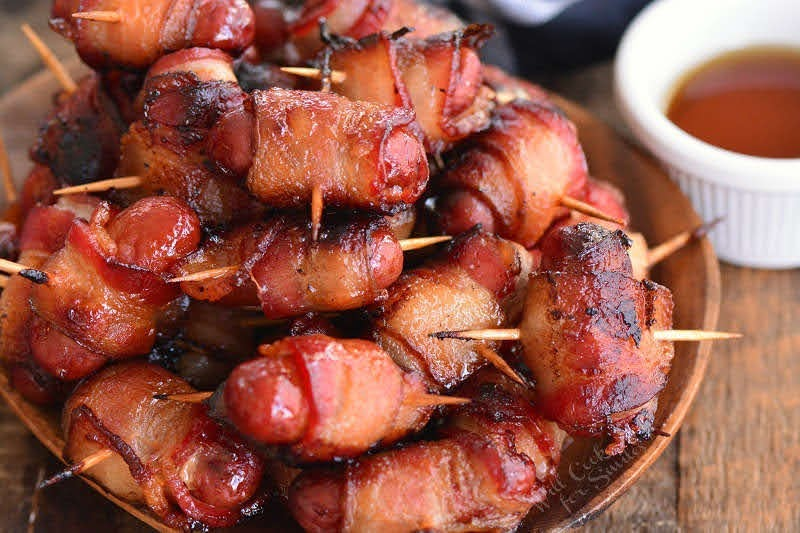 Bacon-Wrapped Little Smokies | Photo Courtesy of Will Cook for Smiles