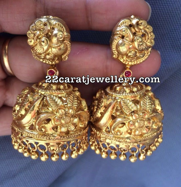 Latest Heavy Jhumkas Collection in 92.5 Silver