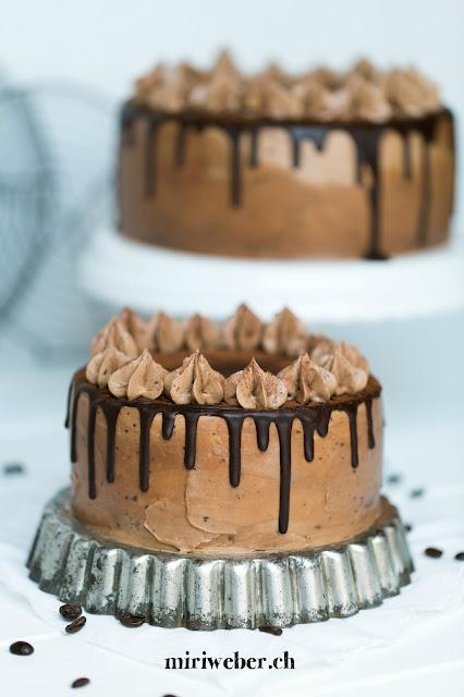 Foodblog Schweiz, Nutellatorte, Espressotorte, Haselnusstorte, Kuchenrezept,
