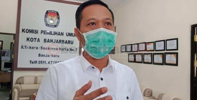 Jelang Pilkada Desember 2020, KPU Banjarbaru Koordinasi dengan Tim GTPP Covid-19