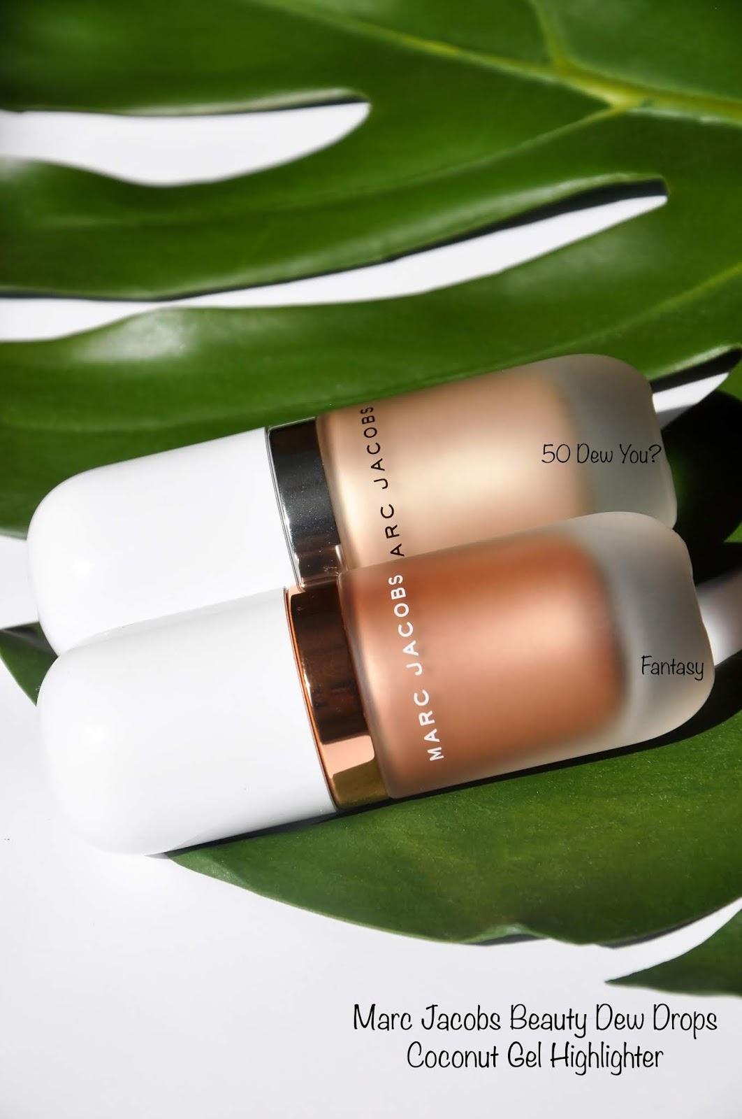 Marc Jacobs Beauty | Dew Drops Coconut Gel Highlighter Dew you & Fantasy