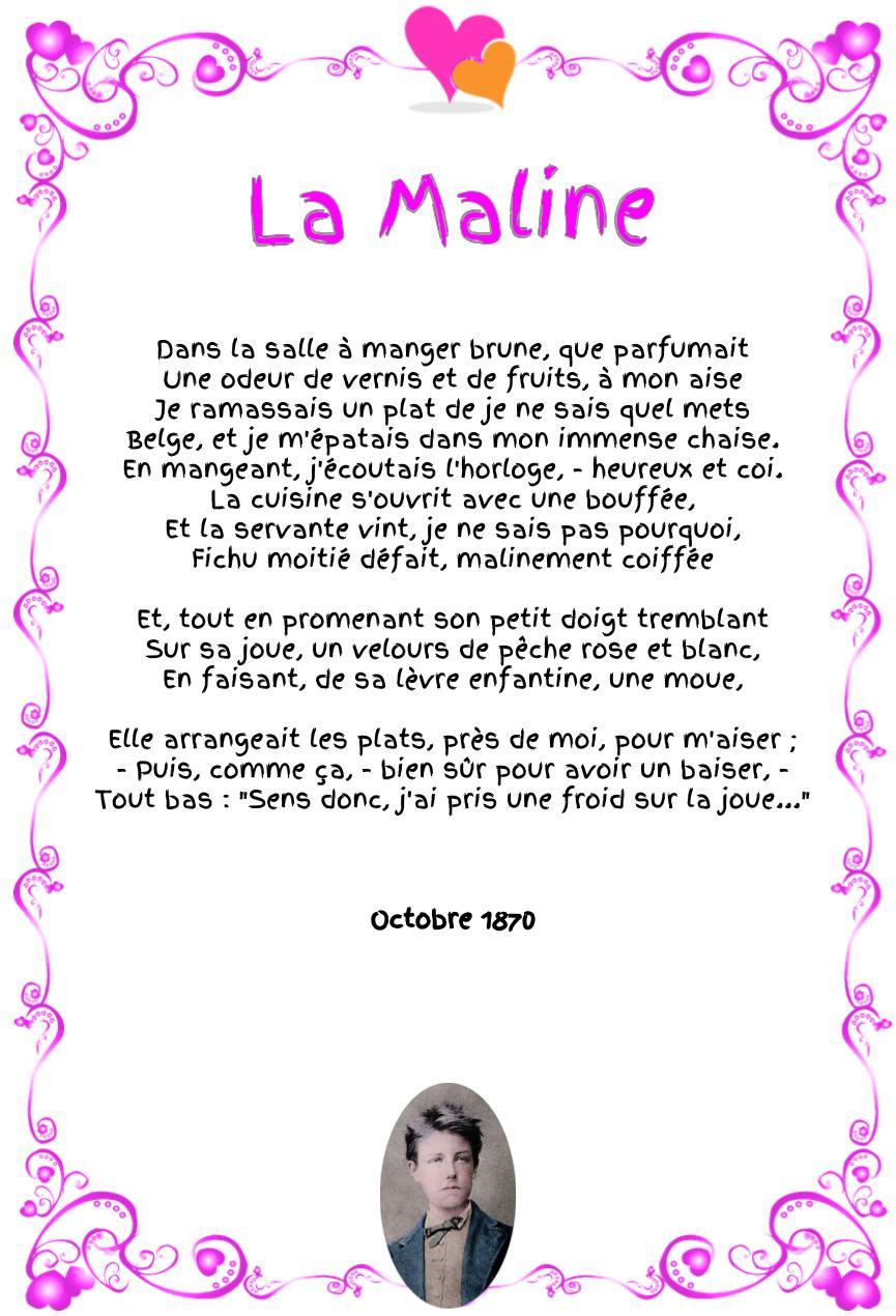 La Maline : Poème d'Arthur Rimbaud