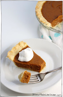 vegan pumpkin pie recipe