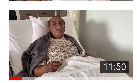 سعيد الناصري يصارع المرض
