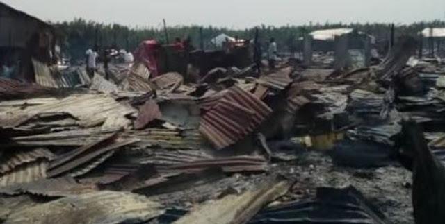 Fire burns houses, renders over 5,000 homeless in A'Ibom