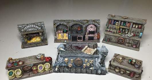 Dungeon scenery Part1