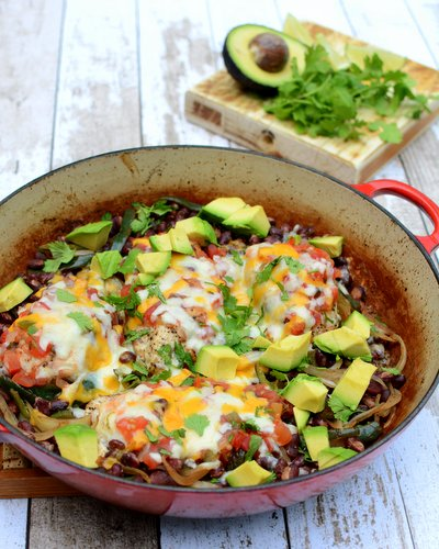 Easy Margarita Chicken, another Quick Supper ♥ KitchenParade.com. Low Carb. Very Weight Watchers Friendly. High Protein. Gluten Free.
