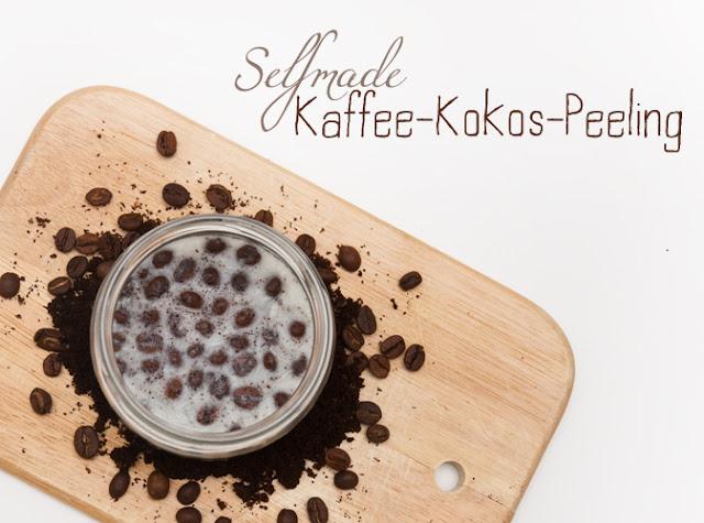 Kaffee-Kokosöl Peeling selbst machen