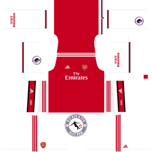 Kits Arsenal 2019 - 2020 Dream League Soccer 2019 & First Touch Soccer