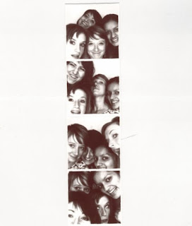 Emilia Klayn with Clementine Gallot (GSAS '08), Charlotte Legg (GSAS '13) and Sarah Thomas (STEINHARDT '05, '08)