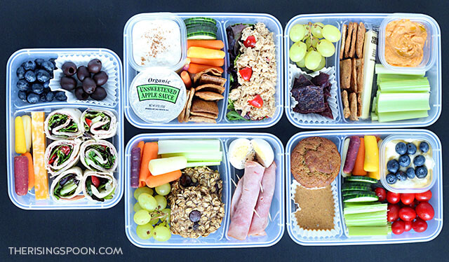 5 Healthy Make Ahead Lunches (For Back to School & Work)