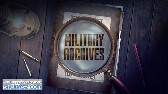 تحميل مجاني قوالب افتر افكت | VideoHive Military Archive Packages 19525544