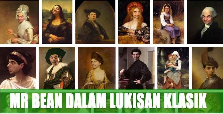 NGAKAK! Mr Bean dalam Lukisan Klasik
