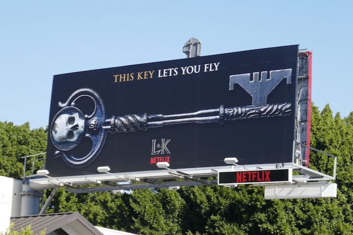This key lets you fly Locke & Key Netflix billboard