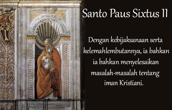 Santo Paus Sixtus II